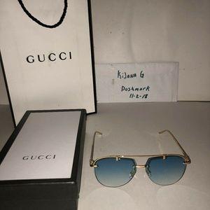 Women authentic gucci sunglasses